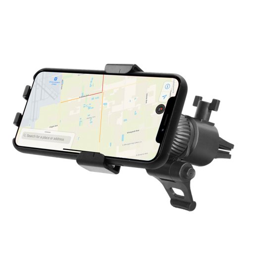 iPhone Halterung Macally MVENTGRAVITY Autohalterung - Schwarz