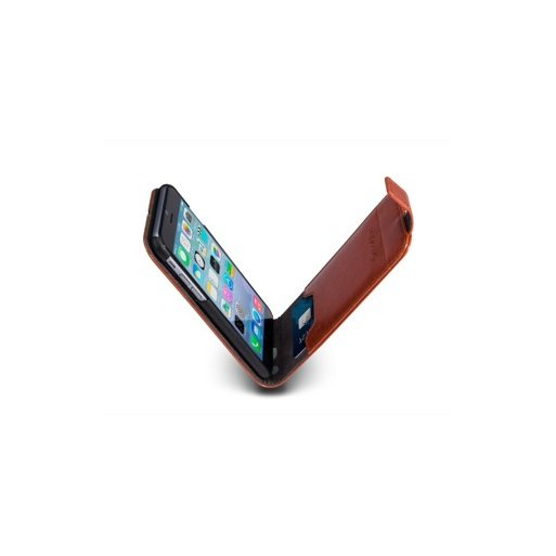 iPhone 6 Handyhülle MarBlue Flip - Braun