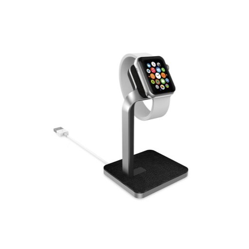 Apple Watch Ladestation Mophie Apple Watch Dock - Silber