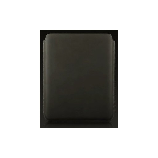 iPad Pro 9.7 Hülle more. Lederetui Sleeve - Schwarz