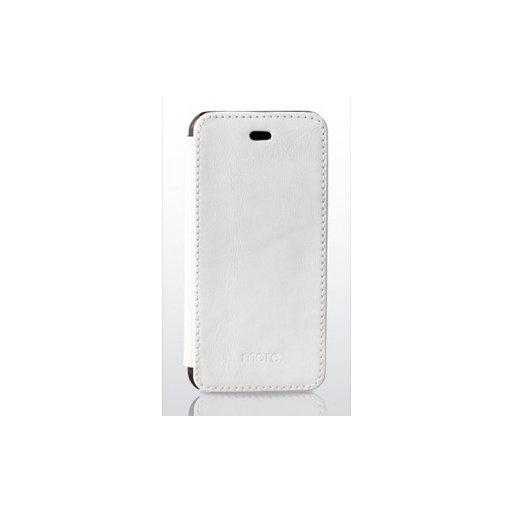 iPhone 6S Handyhülle more. Oak Wallet - Weiss