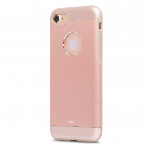 iPhone SE 2 (2020) Handyhülle Moshi iGlaze Armour - Rose Gold
