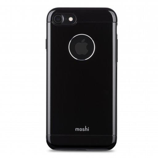 iPhone 8 Handyhülle Moshi iGlaze Armour - Schwarz