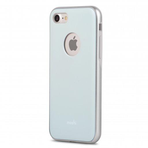 iPhone 7 Handyhülle Moshi iGlaze - Blau
