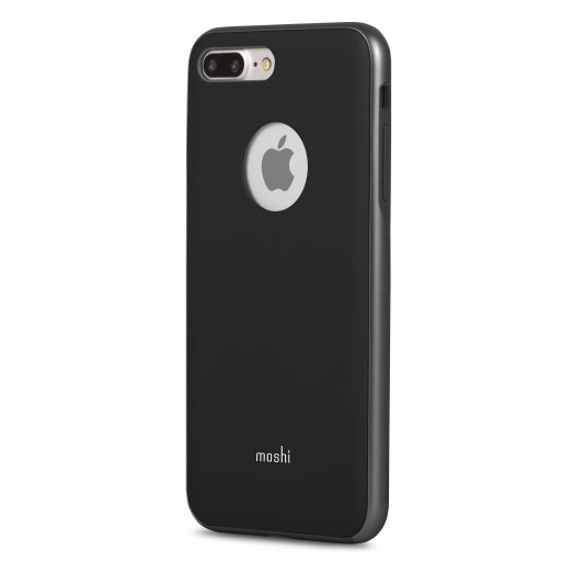 iPhone 8 Plus Handyhülle Moshi iGlaze - Schwarz