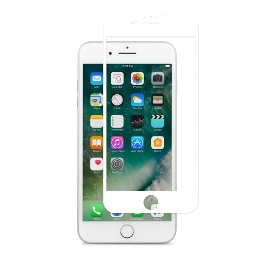 iPhone 8 Plus Schutzfolie Moshi iVisor Anti-Glare Bildschirmschutz - Weiss