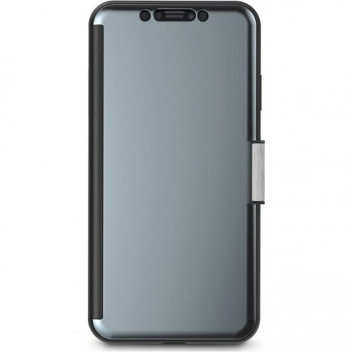 iPhone XS Max Handyhülle Moshi StealthCover - Dunkelgrau
