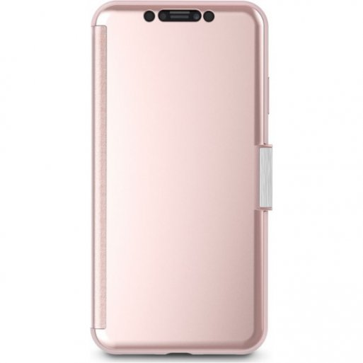 iPhone XS Max Handyhülle Moshi StealthCover - Rosa