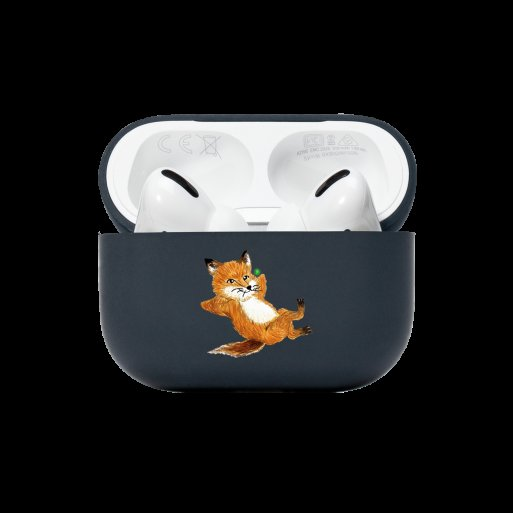 AirPods Case Native Union Chillax Fox Case für Apple AirPods Pro - Dunkelblau