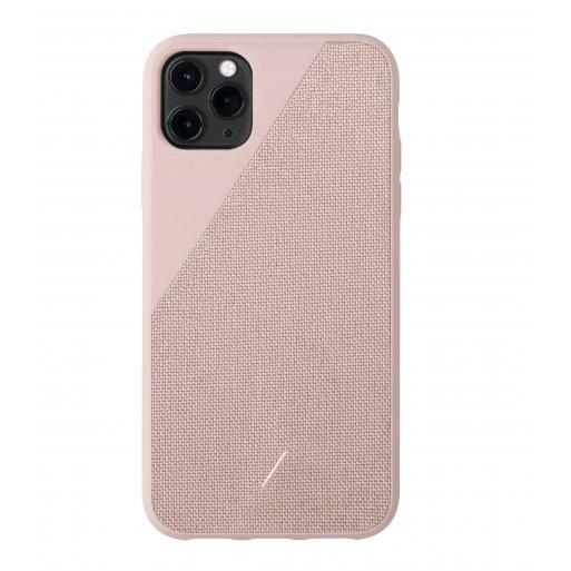 iPhone 11 Pro Max Handyhülle Native Union Clic Canvas - Rosa