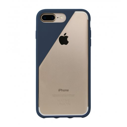 iPhone 7 Plus Handyhülle Native Union Clic Crystal Hardcase für iPhone 7 Plus & 8 Plus (5.5'') - Blau