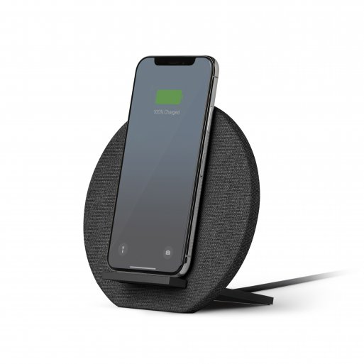iPhone Ladestation Native Union Dock Wireless Charger - Grau