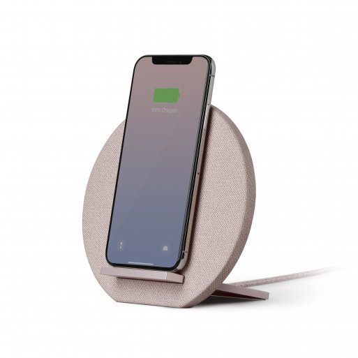 iPhone Ladestation Native Union Dock Wireless Charger - Rosa