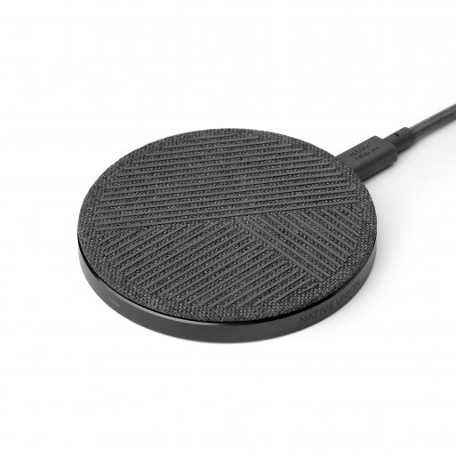 iPhone Ladestation Native Union Drop Wireless Charger - Grau