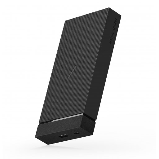 iPhone Powerbank Native Union Jump+ Wireless Powerbank - Grau