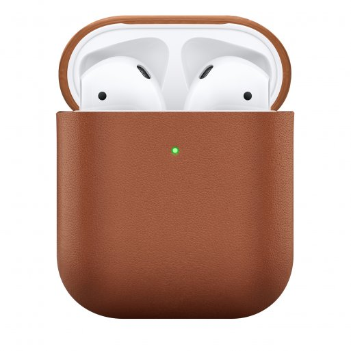 AirPods Case Native Union Leather Case für Apple AirPods - Braun