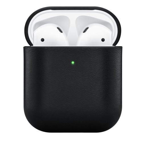 AirPods Case Native Union Leather Case für Apple AirPods - Schwarz