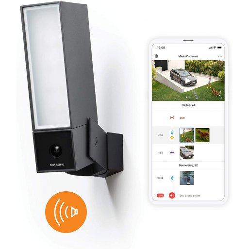 iPhone Gadget Netatmo Smarte Aussenkamera (Presence) mit Sirene