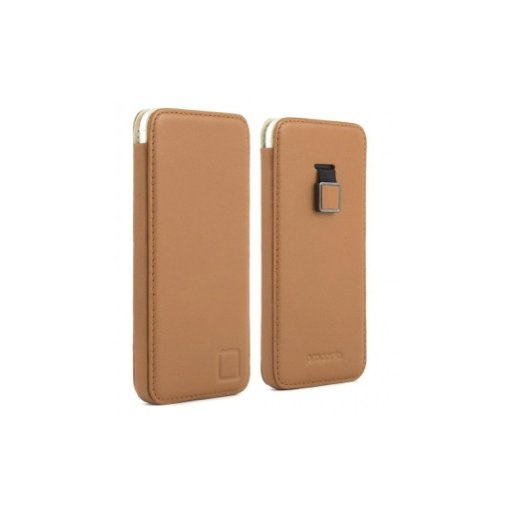 iPhone SE 2 (2020) Handyhülle Proporta Leather Pouch - Braun