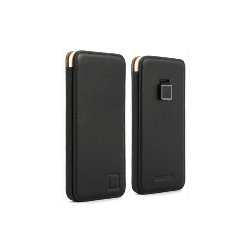 iPhone SE 2 (2020) Handyhülle Proporta Leather Pouch - Schwarz