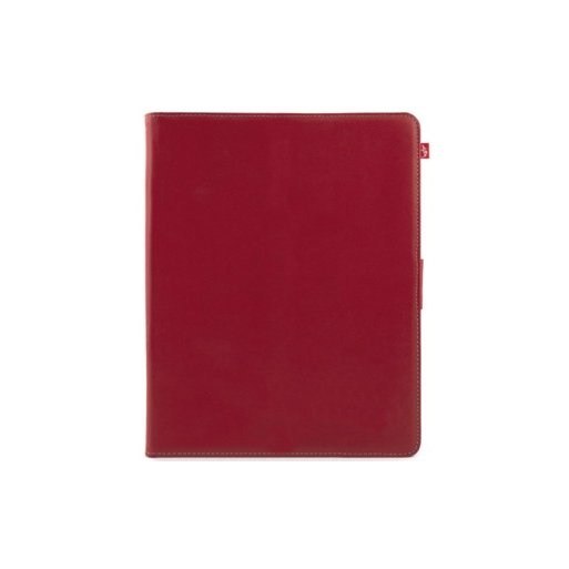 iPad Air Hülle Proporta Leather Style Case - Rot