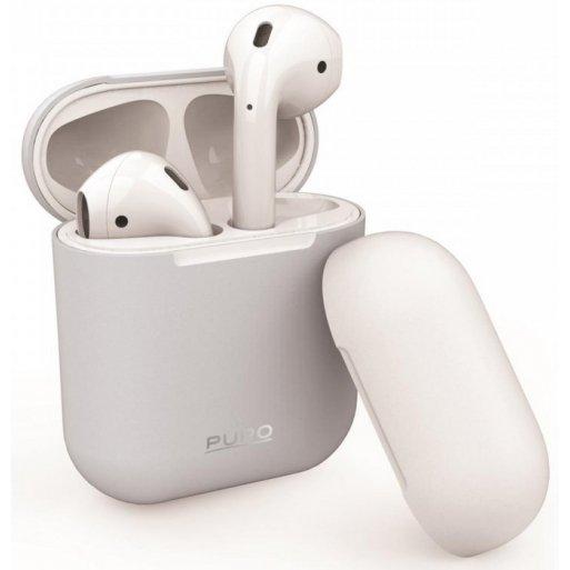 AirPods (1. & 2.Gen.) Case Puro Silicon Case - White