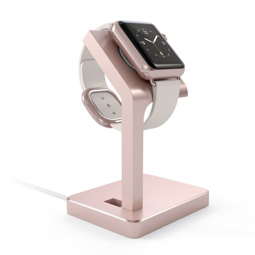 Apple Watch Ladestation Satechi Apple Watch Charging Stand - Rose Gold