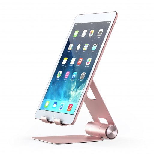 iPhone Halterung Satechi Mobile Stand für Smartphones & Tablets - Rose Gold