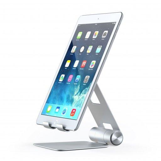 iPhone Halterung Satechi Mobile Stand für Smartphones & Tablets - Silber
