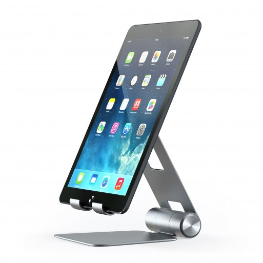 iPhone Halterung Satechi Mobile Stand für Smartphones & Tablets - Space Gray