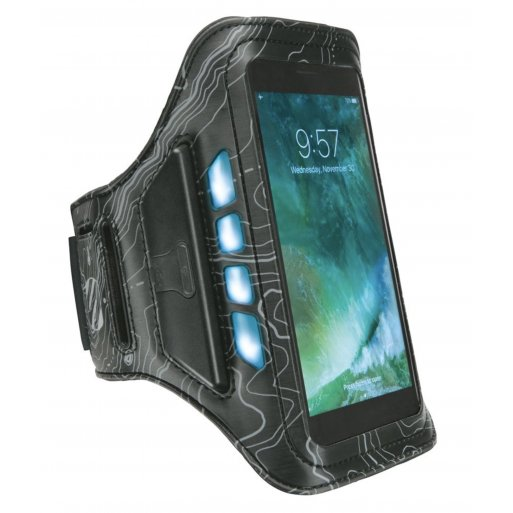 iPhone 8 Plus Handyhülle Scosche LitFit - Schwarz