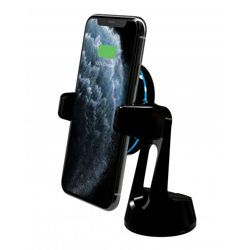 iPhone Ladestation Scosche MagicGrip Window/Dash - Schwarz