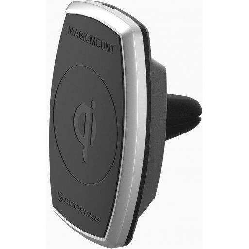 iPhone Autohalterung Scosche MagicMount Pro Qi Vent V2 - Schwarz