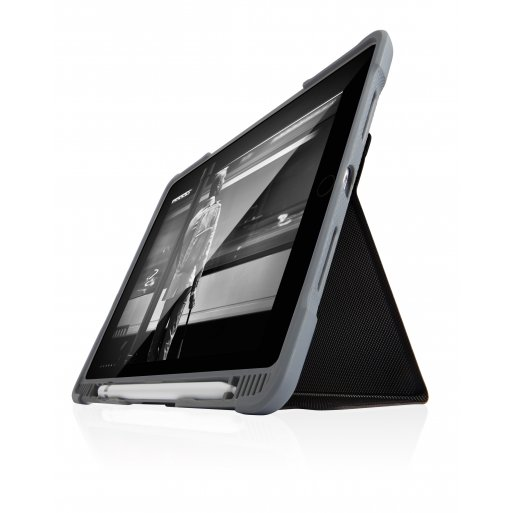iPad Pro 11 (2018) Hülle STM Dux Plus Case EDU Version - Schwarz-Transparent