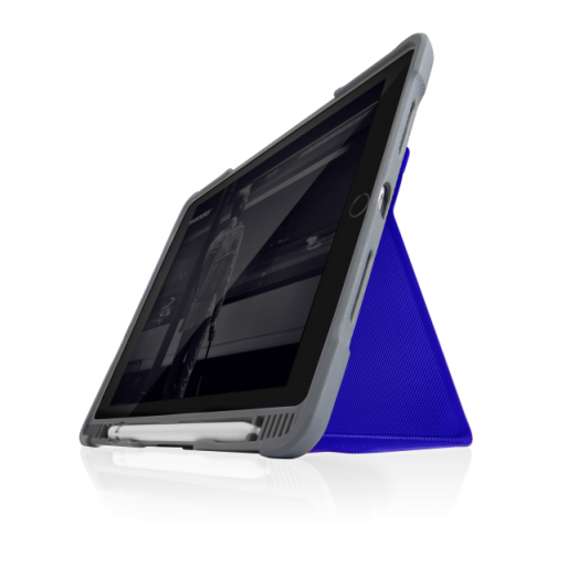 iPad 10.2 (2020) Hülle STM Dux Plus Duo Case - Blau