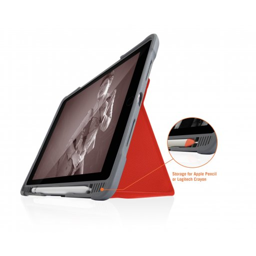 iPad Air Hülle STM Dux Plus Duo Case - Rot