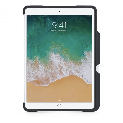 iPad Air Hülle STM Dux Shell - Schwarz-Transparent