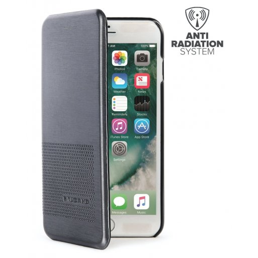 iPhone 8 Plus Handyhülle Tucano DUEinUNO - Schwarz