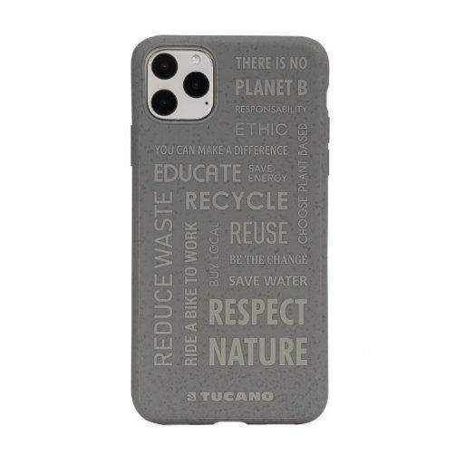 iPhone 11 Pro Handyhülle Tucano Ecover Oeko Case - Grau