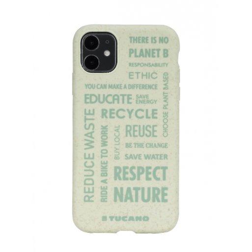 iPhone 11 Handyhülle Tucano Ecover Oeko Case - Grün