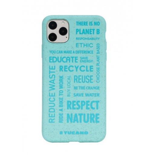iPhone 11 Pro Max Handyhülle Tucano Ecover Oeko Case - Hellblau