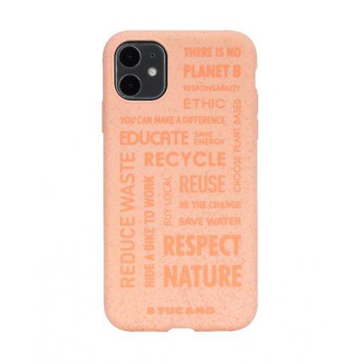 iPhone 11 Handyhülle Tucano Ecover Oeko Case - Rot