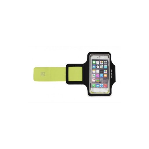 iPhone 7 Handyhülle Tucano Sporty Case mit Armband - Schwarz