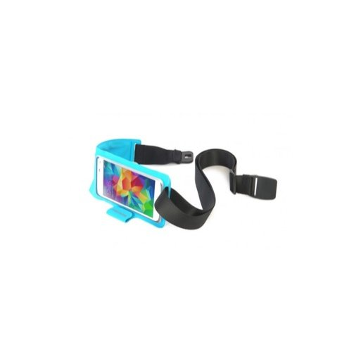 iPhone 7 Handyhülle Tucano Sporty Case mit Hüftband - Blau
