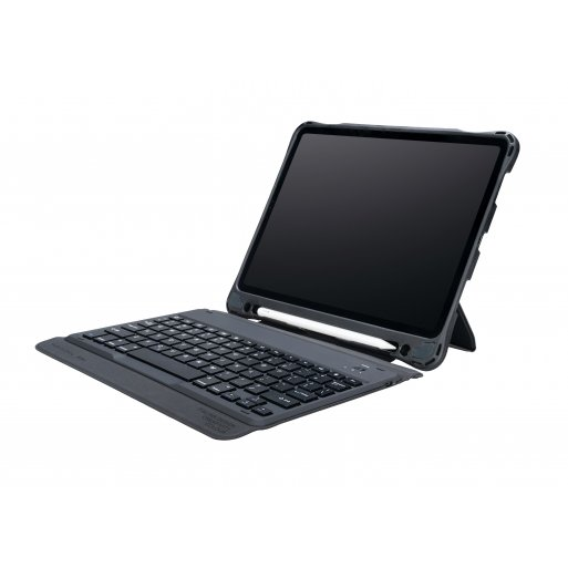 iPad Air 10.9 (2020) Hülle Tucano Tasto Tastatur Case - Schwarz