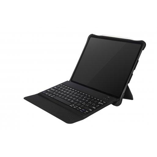 iPad Pro 12.9 (2018) Hülle Tucano Tasto Tastatur Case - Schwarz