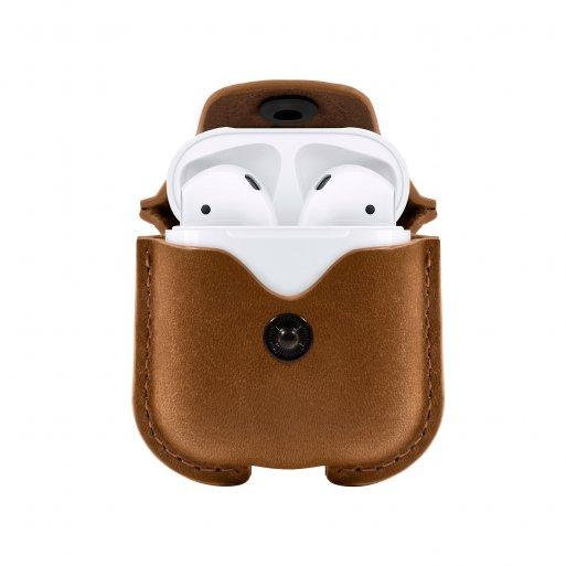 AirPods (1. & 2.Gen.) Case Twelve South AirSnap für Apple AirPods - Braun