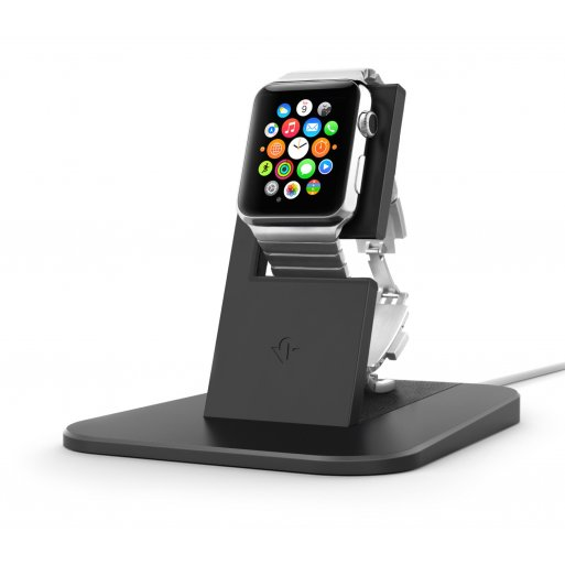 Apple Watch Ladestation Twelve South HiRise für Apple Watch - Schwarz