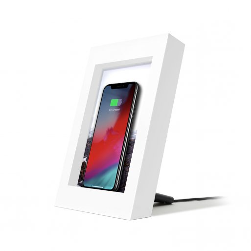 iPhone Ladestation Twelve South PowerPic Wireless Charger - Weiss