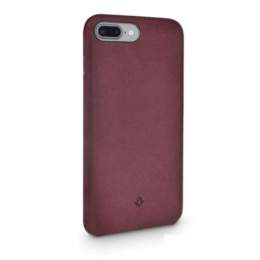 iPhone 7 Plus Handyhülle Twelve South Relaxed Leather Case - Bordeaux